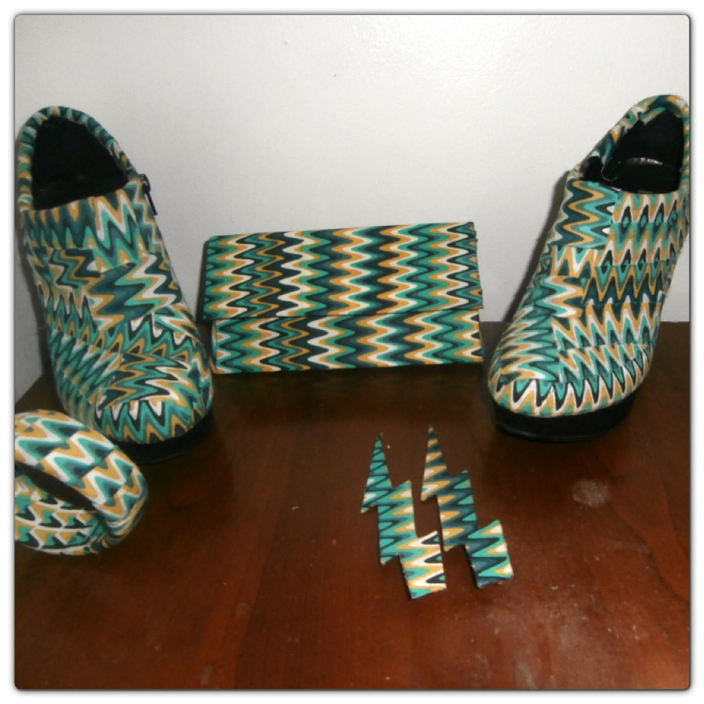 DIY FABRIC COVERED SHOES   TheRuraiAfricanShop