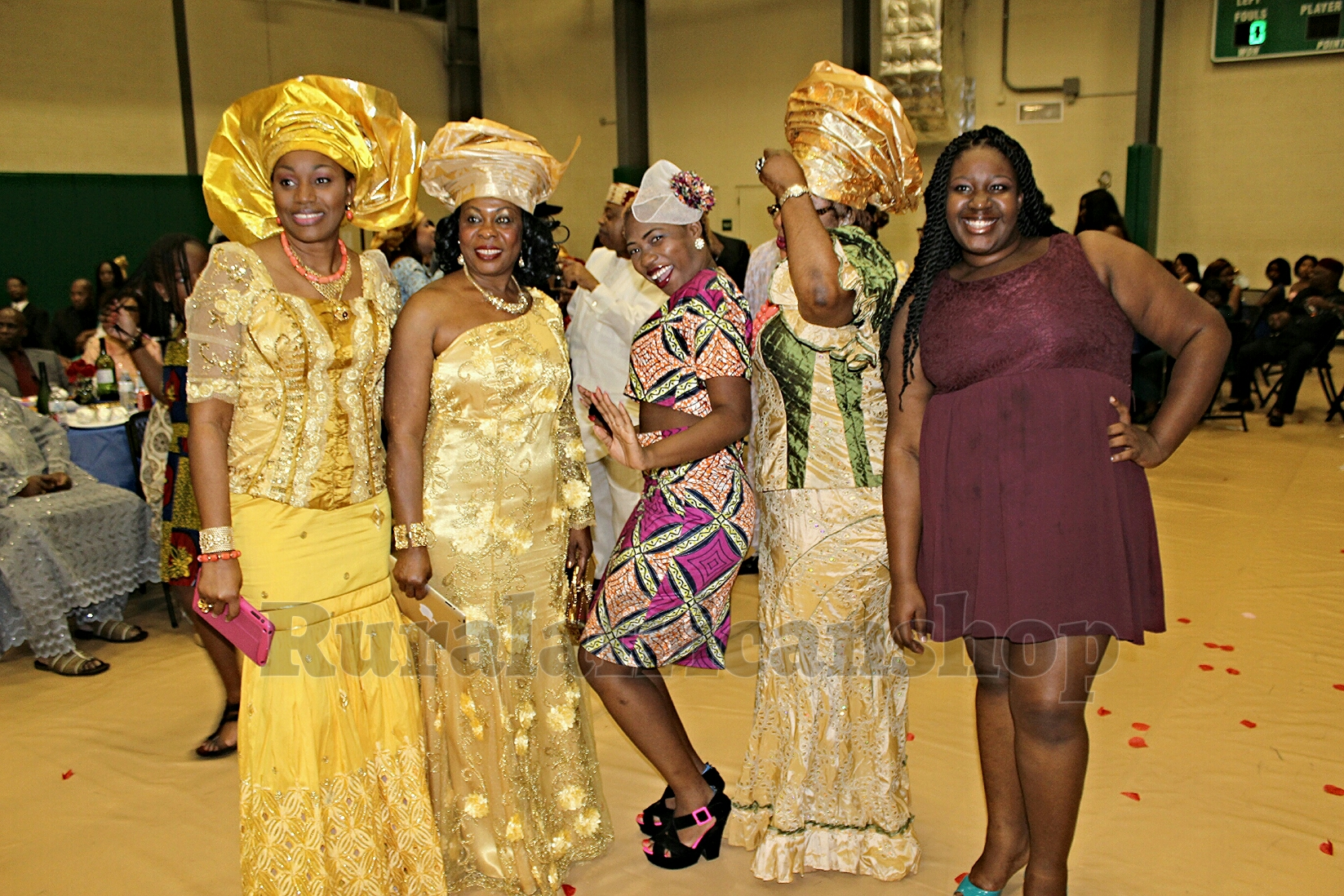 A Traditional Wedding Or An African Fashion Show